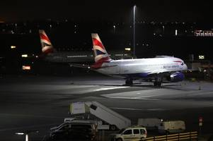 heathrow airport drone operator being sought as police launch criminal investigation