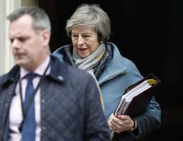 mps force theresa may to present brexit 'plan b' quickly