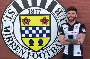 greg tansey tips st mirren to beat the drop after penning an 18 month deal with the paisley side