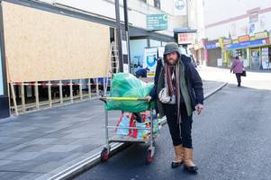 the story of a rough sleeper evicted from the makeshift home he built on a pontypridd town centre street