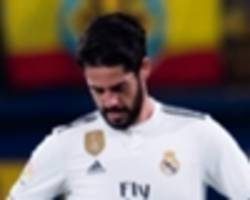 cup game was to big to start isco, says solari