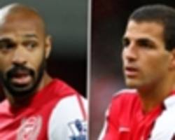 friends reunited: fabregas and henry's special relationship