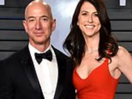 amazon ceo jeff bezos doesn't have a pre-nup and has to split his $140bn fortune in divorce