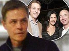 lauren sanchez's husband seen for the first time since news broke of her affair with jeff bezos