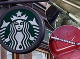 starbucks installs boxes in bathrooms so drug dealers could throw out syringes and needles