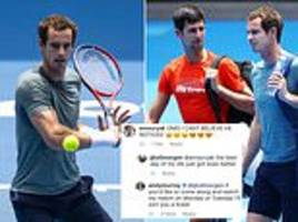 andy murray offers fan a ticket to his australian open first round clash with roberto bautista agut