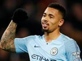 gabriel jesus insists he can fill sergio aguero's boots at manchester city