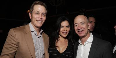 jeff bezos is reportedly dating former tv anchor lauren sanchez while she's still married to a high-powered hollywood agent (amzn)