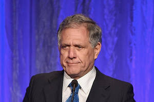 financial times' agenda pulls quotes from 'les moonves' interview he denied ever happened