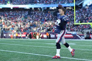 tom brady on why he'll keep playing football: 'once you stop, you're done' (video)