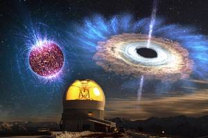 For the first time, astronomers see the signatures of a newly birthed black hole or neutron star