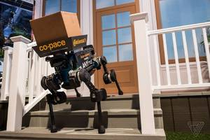 robot dogs are the weirdest package delivery system we've seen