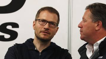 andreas seidl: mclaren appoint german as new boss of formula 1 team