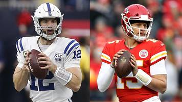 nfl: are andrew luck & patrick mahomes the new tom brady & peyton manning?