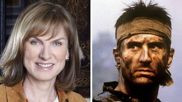 Question Time's Fiona Bruce and the Robert de Niro link