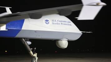 could drones secure the border better than trump's wall?