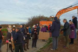 investigations continue into roadblock protest by newquay residents