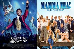 sing-along screenings of mamma mia 2 and the greatest showman are coming to essex