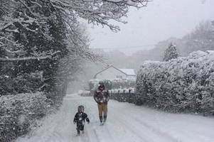 forecasters predict exact dates snow will fall in sussex as beast from the east threatens 2019 return