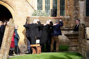 ex-prime minister john major joins mourners at lord paddy ashdown's private funeral