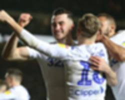 leeds united 2 derby county 0: bielsa controversy no distraction for championship leaders