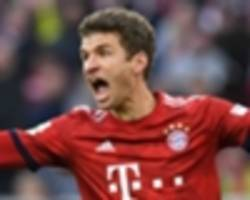 muller to miss champions league last-16 showdown with liverpool as bayern star stung with ban
