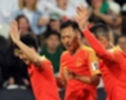 philippines 0 china 3: wu lei stars as lippi's men progress