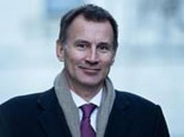 jeremy hunt admits mps will not allow no-deal and amber rudd hints she would quit