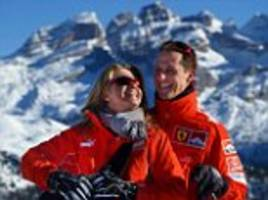 michael schumacher and his wife remain 'a perfect couple', his manager says in rare update