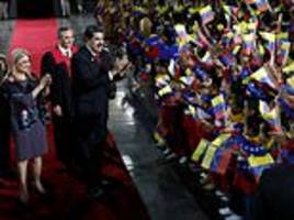 Venezuelan president Nicolas Maduro threatened with sanctions and labelled a dictator  inauguration
