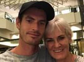Andy Murray posts emotional selfie with mother Judy