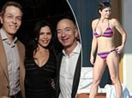 jeff bezos' sexts an explicit selfies to lauren sanchez