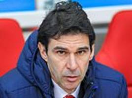 Aitor Karanka leaves role as Nottingham Forest manager amid increasing pressure