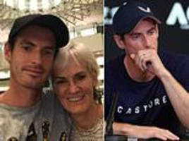 andy murray embraces mum judy after announcing his retirement