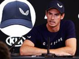 Andy Murray signs with clothing brand Castore ahead of Australian Open