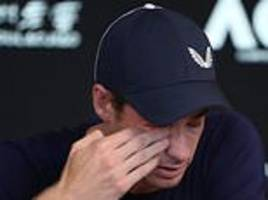 british tennis stars pay tribute to murray after he confirms he will retire this year