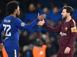 would willian even play at barcelona?it's hard to see where he would fit into all-star line-up