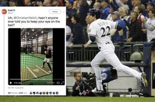 top tweets: even mvp sluggers whiff in slow pitch softball