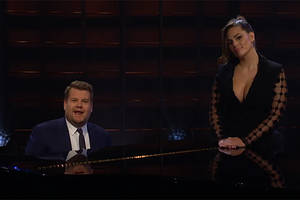 james corden and ashley graham want you to ditch your new year's diet resolution (video)