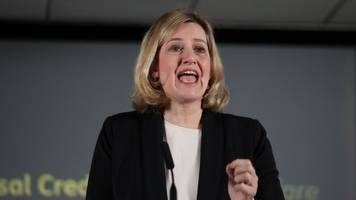 universal credit shake-up announced by amber rudd