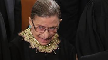 Ruth Bader Ginsburg's Recovery Is On Track, SCOTUS Says