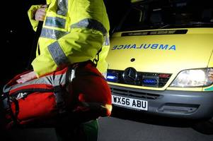 this is how many days ambulance staff were off work with stress last year