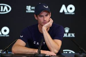 tennis great andy murray announces his aim to retire at wimbledon but admits career could be over in days