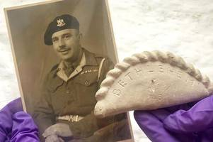 how a homesick soldier carried stone cornish pasty from bethlehem through second world war