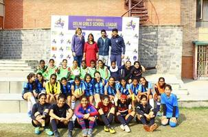 kickstart of the first ever u-13 all girls delhi school league, under the aegis of the national alliance for women's football in india