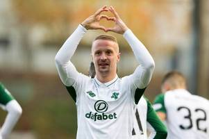 celtic ace leigh griffiths teases parkhead return after break over personal issues