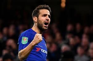 Cesc Fabregas leaves the Premier League as Arsenal, Chelsea and Man United legends pay tribute