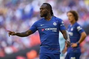 Victor Moses nears Chelsea exit as London rivals are installed as odds-on favourites to sign him