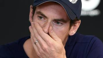 Andy Murray: Three-time Grand Slam winner's full emotional news conference
