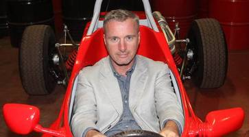 F1 star Eddie Irvine in emotional tribute to Ian Adamson - the man who got him to his first race in Europe